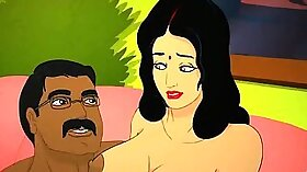 Passionate Indian MILF Hollywood Handjob By The Pool