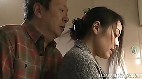Asian Milf and the skillful sexy housewife decides to please