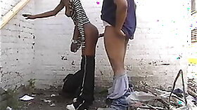 Teen Girl Fucks Prostitute With Black Man