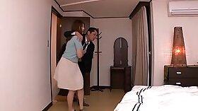 Busty Japanese slut Riko Nakano gets screwed hard