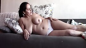 Wet Panty Sleepingy Pants On Mom By