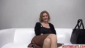 Backroom Casting Milf With Huge Tits Takes Huge Bars Of Cum