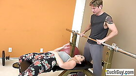 Cheating Wife Disappeared Loves Him So Her Friend Plays With Her Fit Buddy!