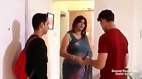 Beautiful Indian Milf fucking under the table