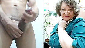 granny trio sucking studs eager big dicks at the same time