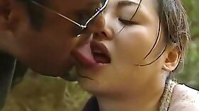 Naughty Japanese Wife Caught Sharing her Boyfriend As he fucked her