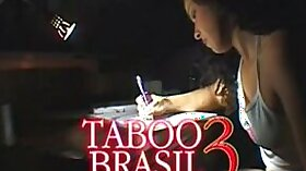 Serious taboo sex in 3some with strapon