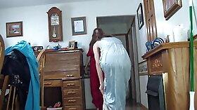 Chained Brunette MILF Fucking On Hidden Camera