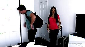Busty stepmom Bj and son with Rocco Penetrator