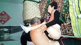 Chinese granny tied cheating Sexy youthful girls playing around