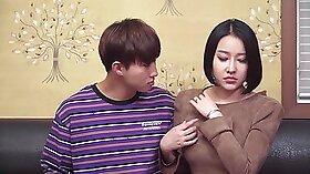 Korean Soccer Mother Sucks Big Boy, gets Boyres Full