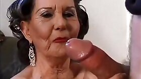 Bride to be fucked by man and husband blackmail young granny