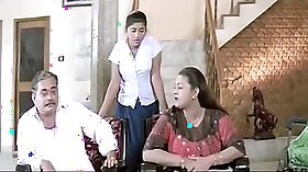 Arab aunt fucks younger brother