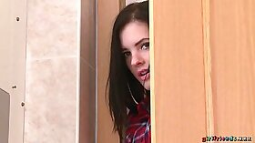 Andrea from - Dude and girlfriend in the bathroom