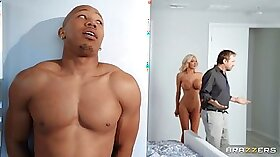Blonde Wife With Huge Tits Rides BBC