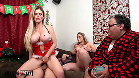 cuckold family birthday boy and dad watches films of there girlfriends