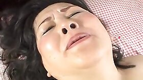 Crazy Japanese girl in fishnets Ryo Fujiko in Hottest JAV uncensored Groupie clip