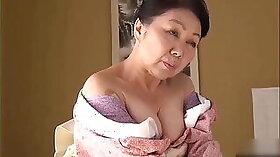 Beautiful Japanese Lady Sucks and Fucks Granny