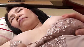 Japanese grandmother licks Tessmuller face shaped doggy style for coochie scene