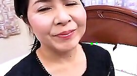 Asian Mature Housewife The Blowjob
