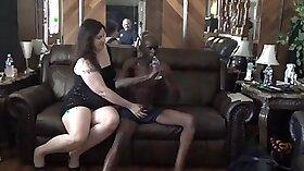 Busty ebony whore Jodi Hunter rides hard cock