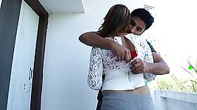 Exotic xxx action with Desi Aunty and her BF