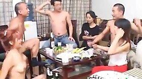 Cute Chinese girl fucks his white weenie