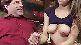 FamilyHookups Horny Stepdaughter Offers Dad Handjob