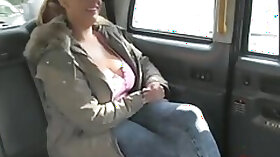 Busty brit throated while fingerfucked