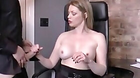 Hot milf holly kiss fucks young cock in stockings! xxx