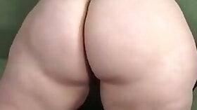 Fat blonde monica dildos herself to orgasm