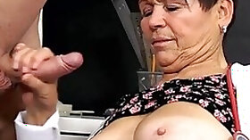 Steamy housewife prostate and money shot