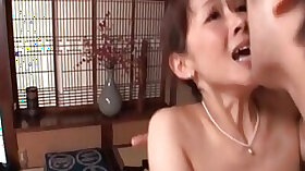 Screaming Asian housewife is about to cum buckets