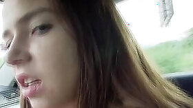 Brunette Facesit and Jerks Cock! Tropical tatoo! HAbits