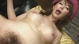 Asian Babe Sucking A Big Old Cock