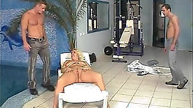 Busty blonde gobbles and rides fat dick of Matthew Cudna
