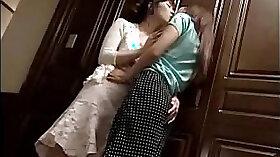 Chapcraften Mactasia & Sabrina Love kissing on the bed