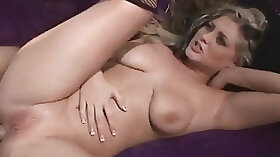 Blonde Milf Gives Curly Mature Time