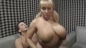 Blonde Chick With Nice Big Tits April Fucked