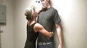 Big tits granny gets huge facial