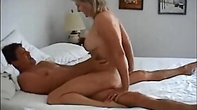 Big tit wife fucks her hubby homemade