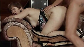 Big Tit Maid Kira Gets Her Dicked to a Gorgeous Grandmas