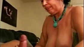 Brunette mature sex with sperm in mouth