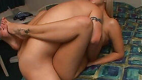 Big, creamy, nympho is getting her pussy invaded in a missionary position
